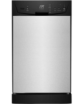 SPT 18 Inch Portable Dishwasher